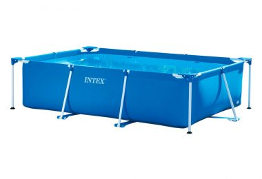 Piscinette Metal Frame 3 X 2 X 0,75 M - Tubulaire Rectangulaire Intex