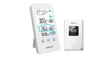 Station météo Blanc sans Fil avec capteur extérieur ZILI guide meilleur prix conseil en ligne