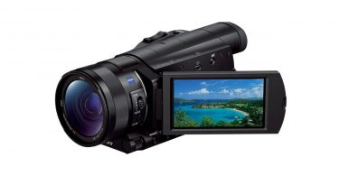 Sony FDR-AX100 Caméscope 4K guide test achat commande Web