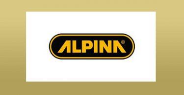 1commande Logo marque Alpina guide machine à tondre le gazon test présentation et conseil pour faire l'aquisition d'un modèle
