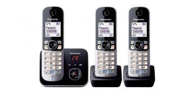 3 Téléphones sans Fil Panasonic KX-TG6823 test comparateur commande web