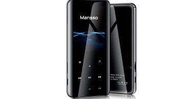 Lecteur Audio numérique Portable MP3 MANSSO 8 Go guide d'achat high tech commande Web
