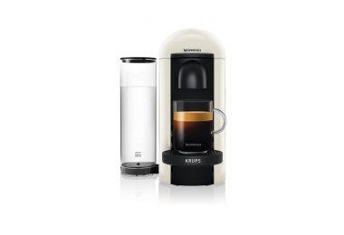 Machine à café à capsules Nespresso Vertuo Blanc Krups YY3916FD guide comparteur achat électroménager
