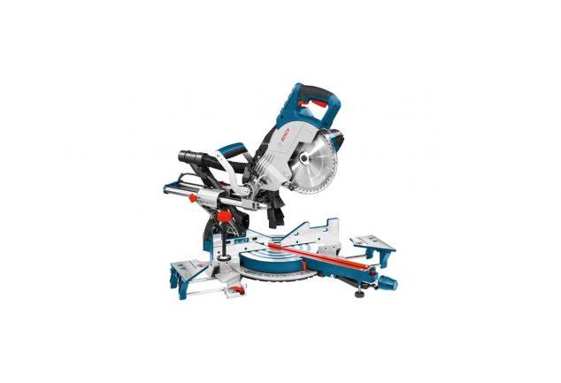 Scie à onglet radiale fil découpe professionnel Bosch GCM 8 SJL présentation du meilleur outillage pour faire du bricolage ou pour professionnel