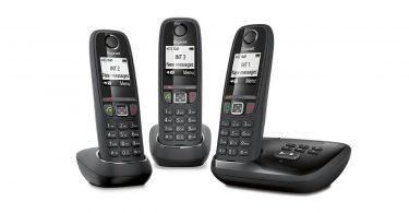 Téléphone fixe Gigaset AS470A sans fil 3 combinés faire ses achats en ligne