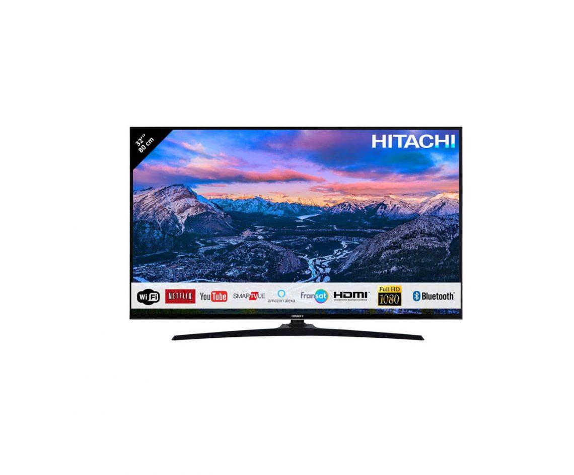 Télévision Hitachi 80cm Smart TV guide test achat aide commande internet